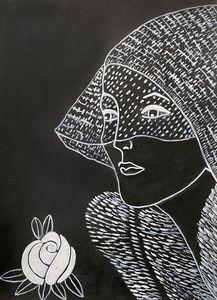 """""""Lady in Veil"""" - Art by Artak"""