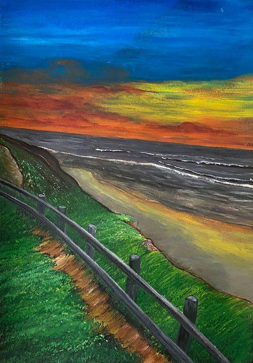 """""""Evening Shore"""" - #ARTSAKHSTRONG"""