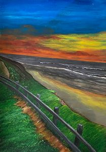 """Evening Shore"" - Art by Artak"