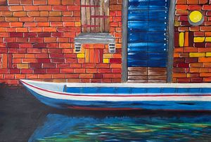 """Canal in Venice"" - Art by Artak"