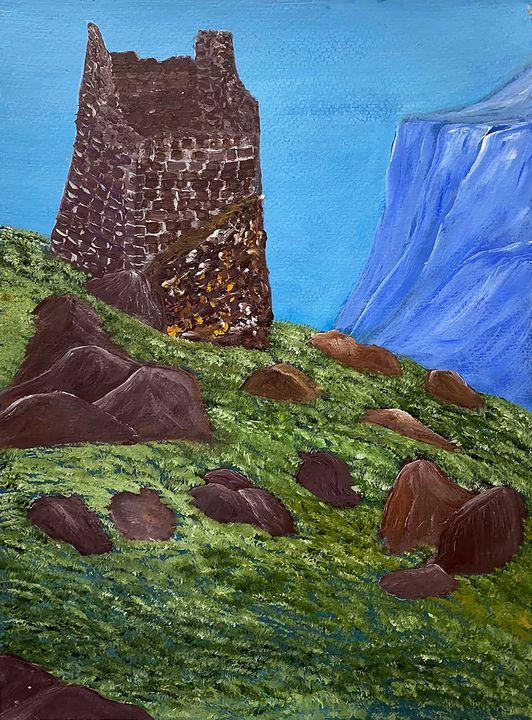 """Caucasian Tower"" - ArtbyArtak"