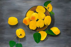 """ Yellow Apricots"""
