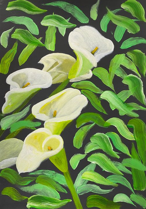 """""""Abstract Calla Lilies Flowers"""" - #ARTSAKHSTRONG"""