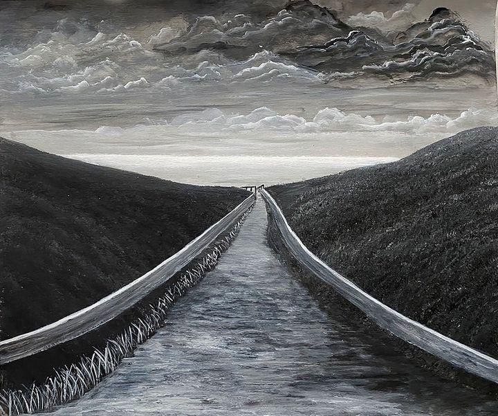 """Road to Nowhere"" - ArtbyArtak"