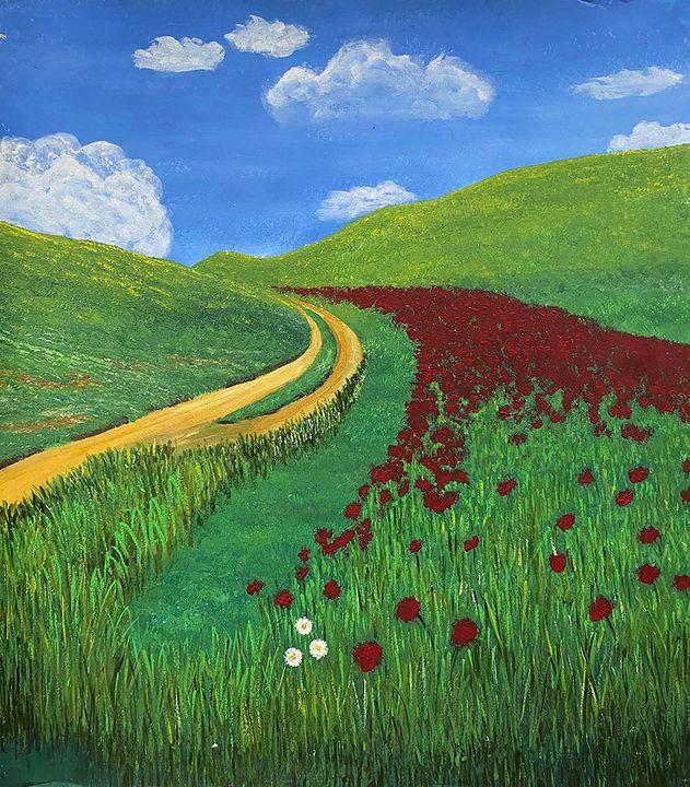 Summer Field - ArtbyArtak