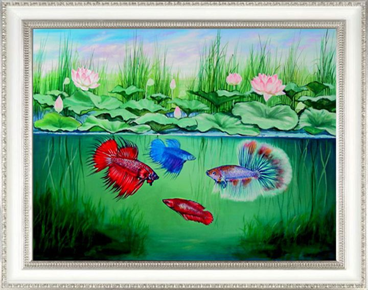 "Siamese Fighting Fish "" Bettas "" - Ponchai J."