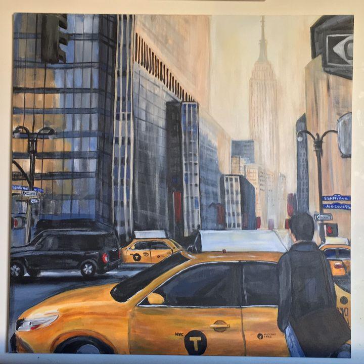 Good Morning Taxis - Aiken-Art