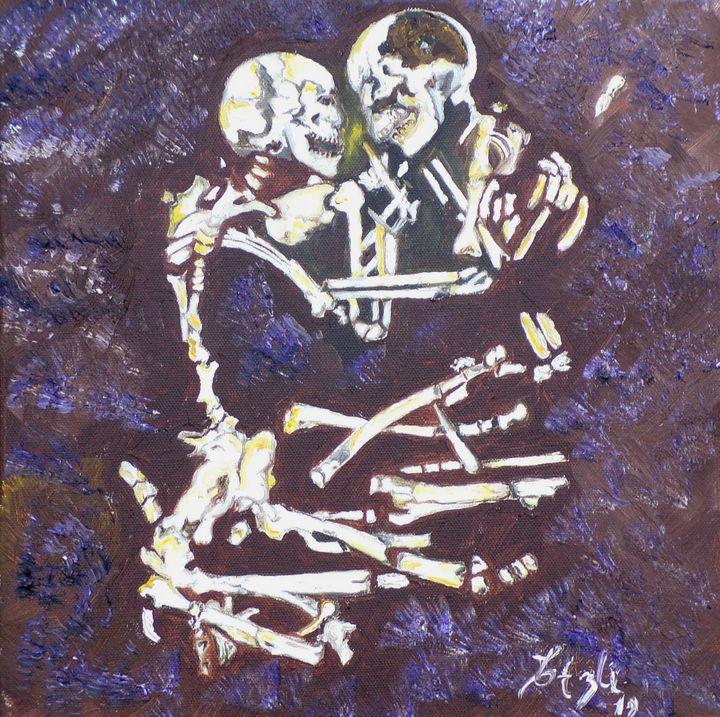 The Lovers Bones - Elena Estrada's Sad Water Designs