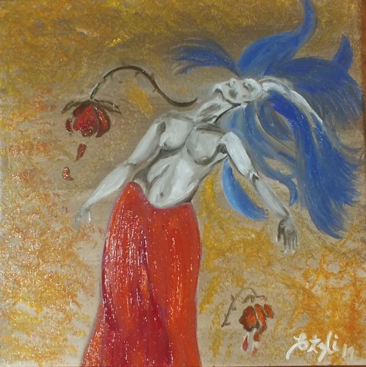 Withering Rose of MMIW - Elena Estrada's Sad Water Designs