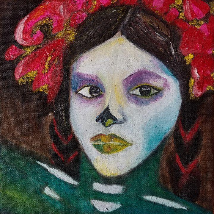 Flowers in Her Hair - Elena Estrada's Sad Water Designs