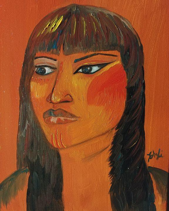 Indigenous Sister - Elena Estrada's Sad Water Designs