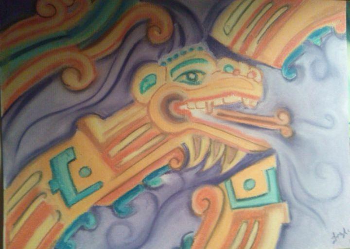 Quetzalcoatl Dancing - Sad Water Designs