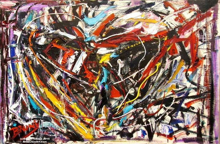 """""""Abstract Heart"""" by BRUNI - BRUNI Sablan"""