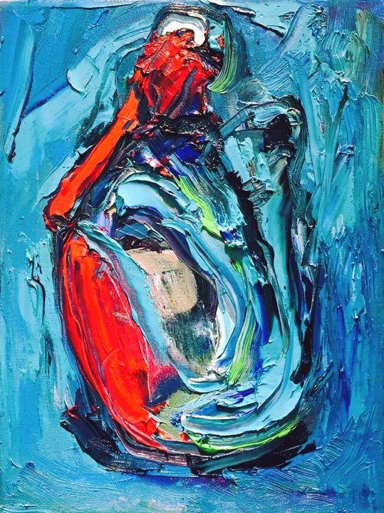 Figurative Blues, Reds by BRUNI - BRUNI Sablan