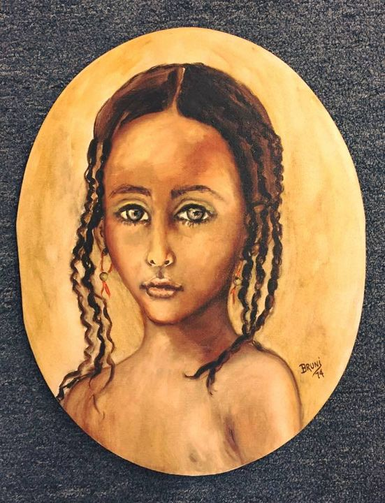 African Girl by BRUNI - BRUNI Sablan