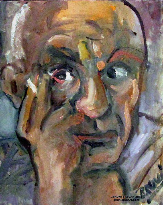 Portrait of Pablo Picasso by BRUNI - BRUNI Sablan