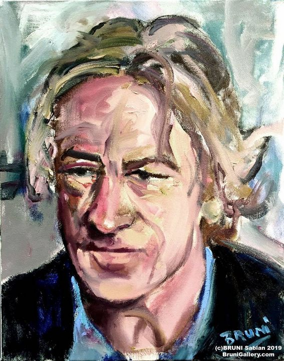 Robert De Niro Portrait by BRUNI - BRUNI Sablan