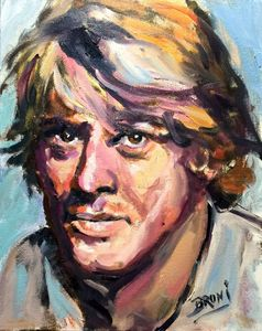 ROBERT REDFORD by BRUNI