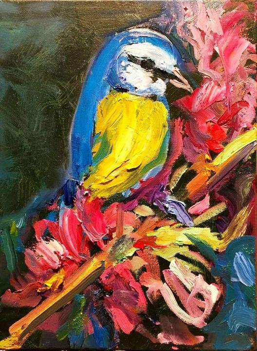 'Beautiful Colorful Bird' by BRUNI - BRUNI Sablan