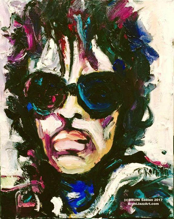 'The Purple Raindrops' - BRUNI Sablan