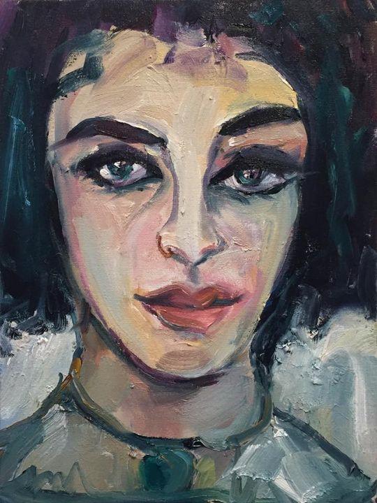 Elizabeth Taylor by BRUNI - BRUNI Sablan