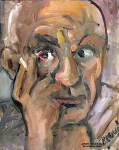 Portrait of Pablo Picasso by BRUNI
