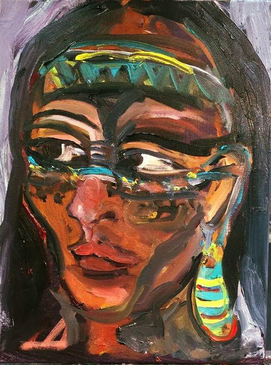 Indigenous Woman by BRUNI - BRUNI Sablan