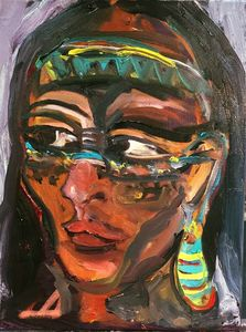 Indigenous Woman by BRUNI