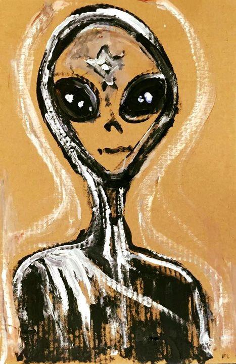 Alien Star Girl by BRUNI - BRUNI Sablan