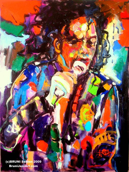 Michael Jackson by BRUNI - BRUNI Sablan