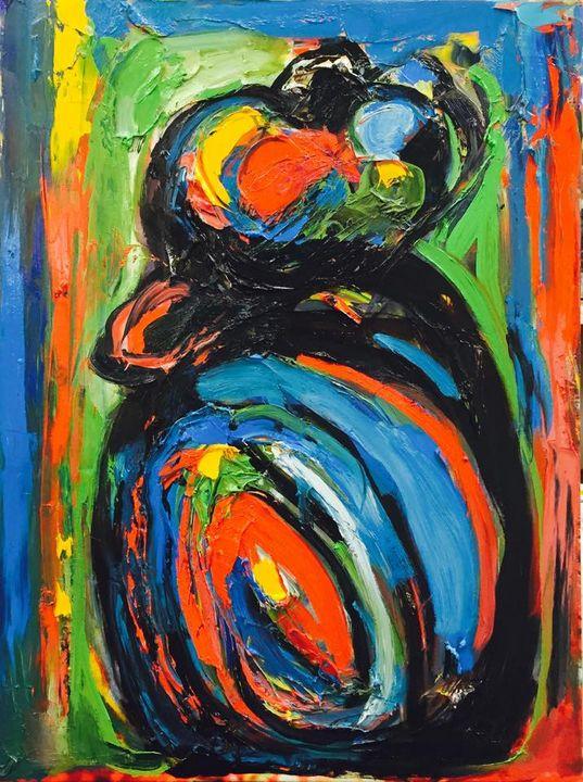 """""""RAINBOW GIRL"""" by BRUNI - BRUNI Sablan"""