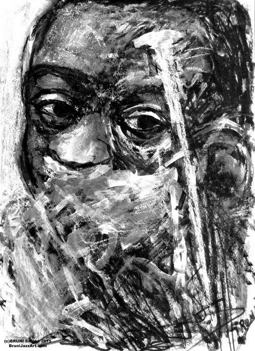 Louis Armstrong by BRUNI - BRUNI Sablan