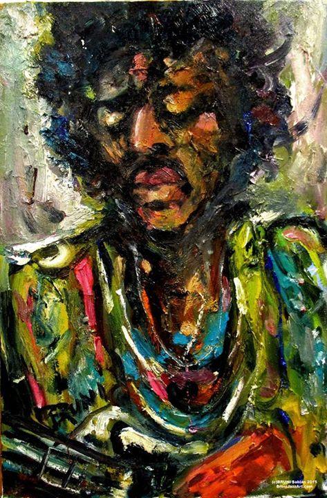 Jimi Hendrix - BRUNI Sablan