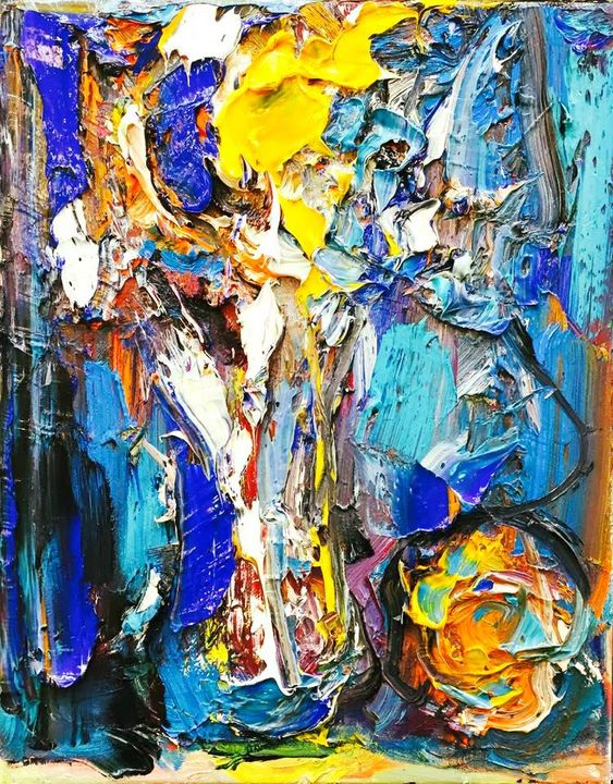 """""""COLOR FOR WEARY EYES"""" by BRUNI - BRUNI Sablan"""