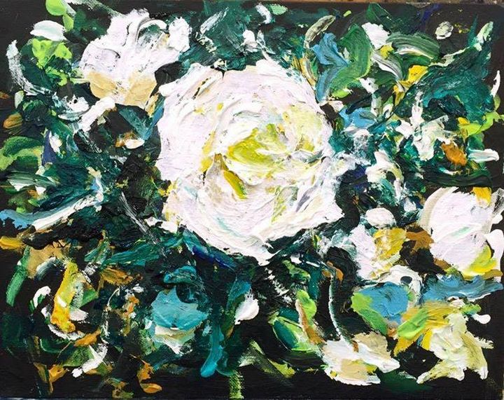 WHITE ROSES by BRUNI - BRUNI Sablan