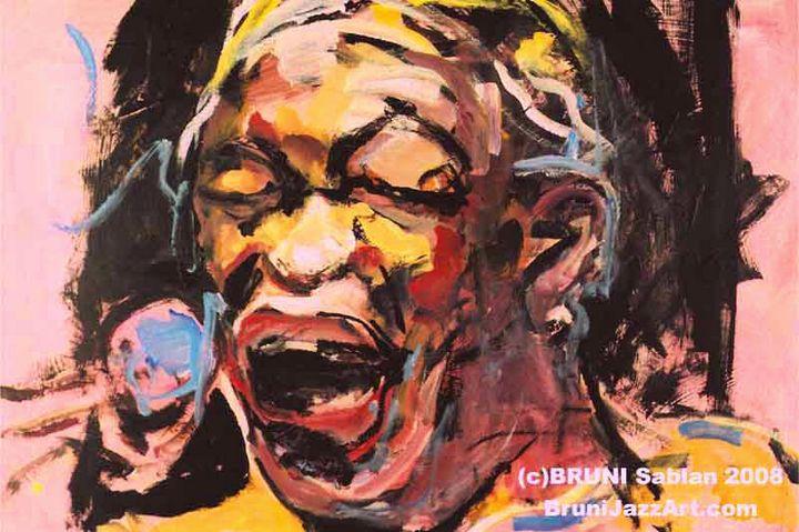 Hugh Masekela by BRUNI -vintage item - BRUNI Sablan