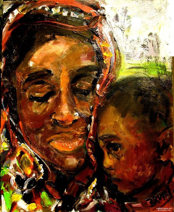 AFRICA MOTHER AND CHILD - Prayers - BRUNI Sablan