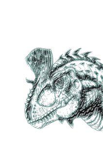 Dinosaur print #1