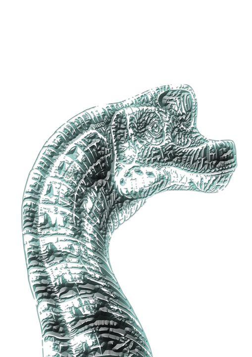 Dinosaur print #5 - Studio IN Budapest