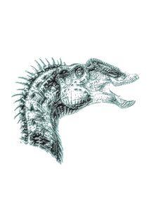 Dinosaur print #2
