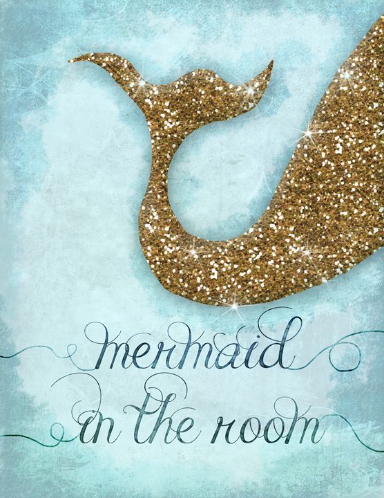 Mermaid tail - Girls room decor - Studio IN Budapest