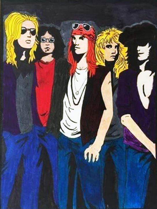 Guns n Roses - Freeky Designs