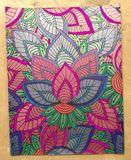 Colored print