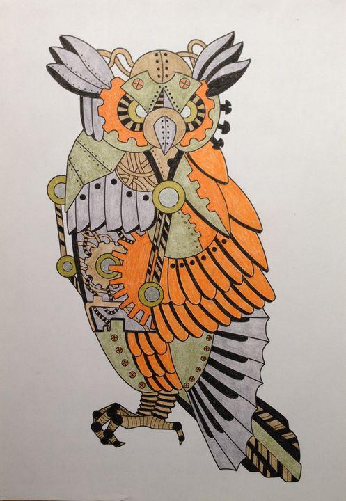 Steampunk Owl - Christina