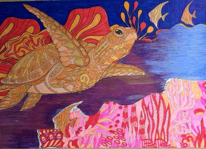 Divine Sea Turtle - Christina