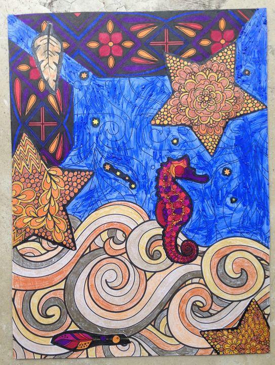 Seahorse dream - Christina