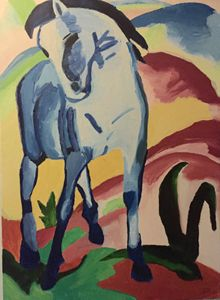 Blue Horse adaption