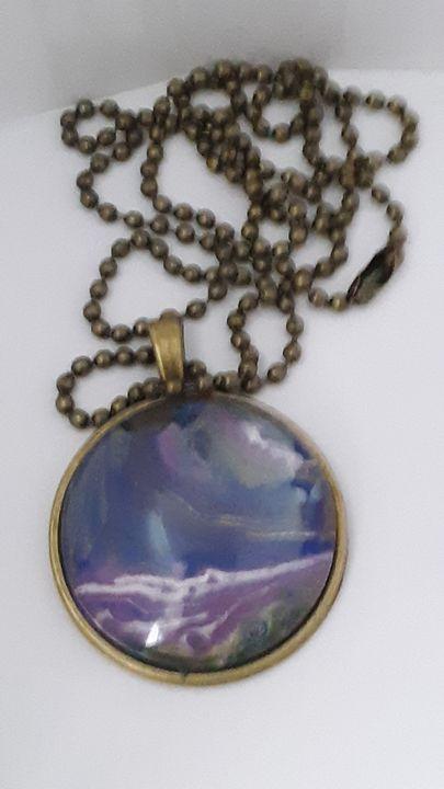 Purple sands - GrandmasCreativeCorner