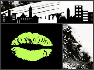 GREEN KISS FOR THE CITY