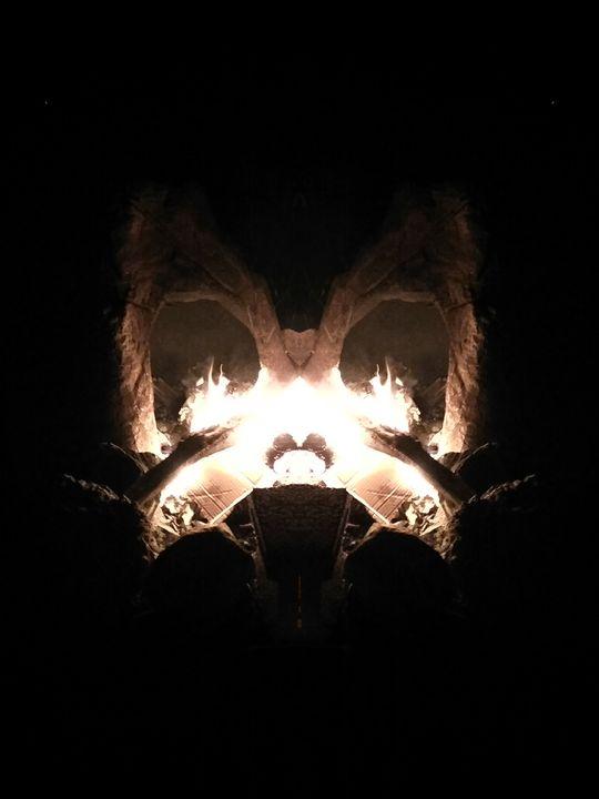 Butterfly God - P & M Art